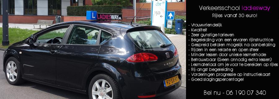 Rijles vanaf 35 euro in amsterdam!